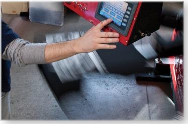 Screen Printing Press Closeup
