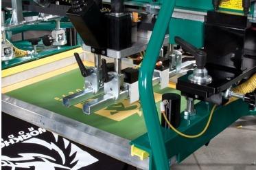 Screen Printing Press Adjustment